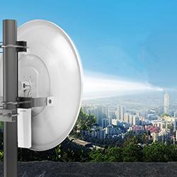 diseño e instalación de antenas punto a punto